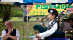 Japan Scotland Highland Games
